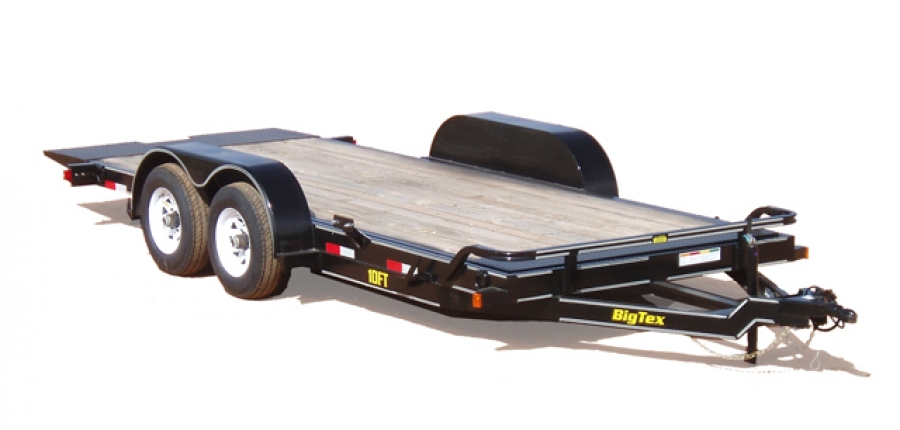 Big Tex Pro Series Tilt Bed Equipment Trailer Model