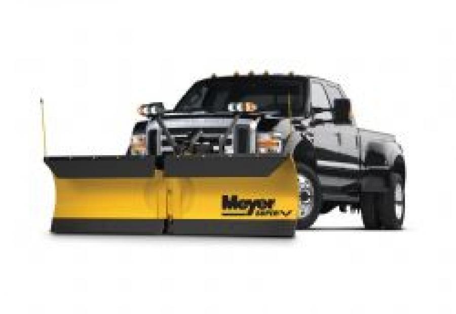 Meyer Snowplow Super V Series Steel Moldboard
